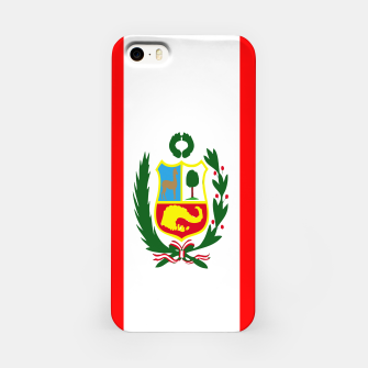 Thumbnail image of Flag of Peru  iPhone Case, Live Heroes