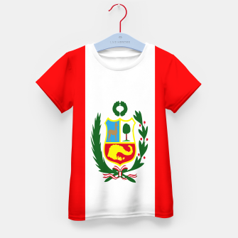 Thumbnail image of Flag of Peru  Kid's t-shirt, Live Heroes