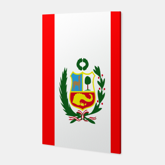 Thumbnail image of Flag of Peru  Canvas, Live Heroes