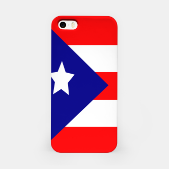 Thumbnail image of Flag of Puerto Rico  iPhone Case, Live Heroes