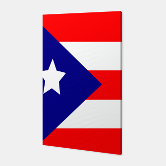 Thumbnail image of Flag of Puerto Rico  Canvas, Live Heroes
