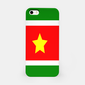 Thumbnail image of Flag of Suriname iPhone Case, Live Heroes