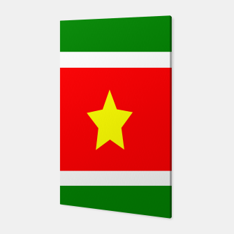 Thumbnail image of Flag of Suriname Canvas, Live Heroes