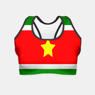Thumbnail image of Flag of Suriname Crop Top, Live Heroes
