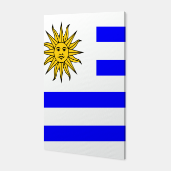 Thumbnail image of Flag of Uruguay Canvas, Live Heroes