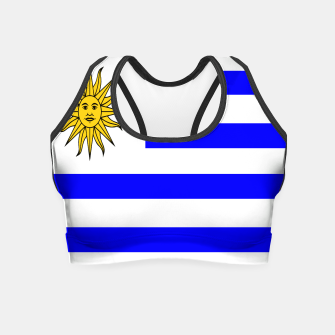 Thumbnail image of Flag of Uruguay Crop Top, Live Heroes