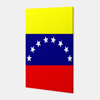 Thumbnail image of Flag of Venezuela Canvas, Live Heroes