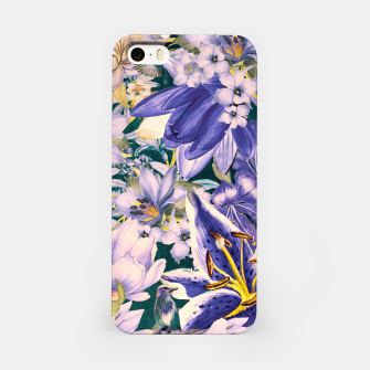 Thumbnail image of flowers blue Obudowa iPhone, Live Heroes