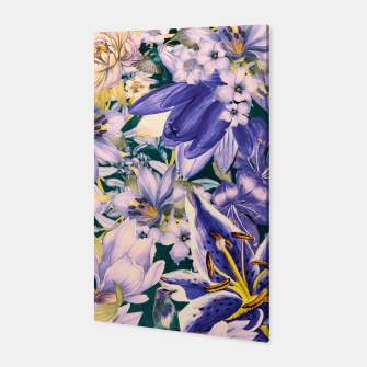 Thumbnail image of flowers blue Canvas, Live Heroes