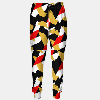 Thumbnail image of Colorful Abstract Pattern Cotton sweatpants, Live Heroes