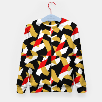 Miniaturka Colorful Abstract Pattern Kid's sweater, Live Heroes