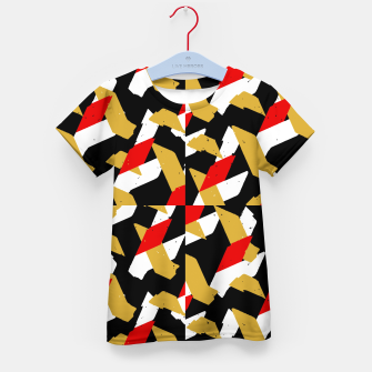 Thumbnail image of Colorful Abstract Pattern Kid's t-shirt, Live Heroes