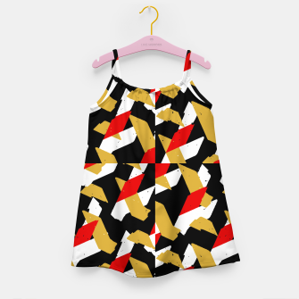 Thumbnail image of Colorful Abstract Pattern Girl's dress, Live Heroes