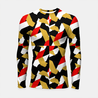 Thumbnail image of Colorful Abstract Pattern Longsleeve rashguard , Live Heroes