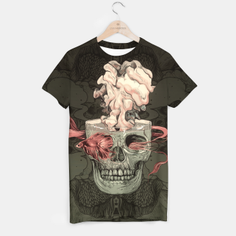 Miniature de image de Red Fish and Smokey Skull T-shirt, Live Heroes