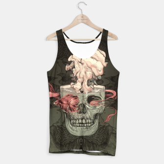 Imagen en miniatura de Red Fish and Smokey Skull Tank Top, Live Heroes