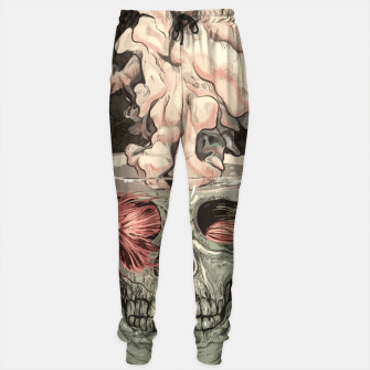 Thumbnail image of Red Fish and Smokey Skull Cotton sweatpants, Live Heroes