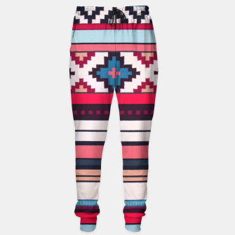 Thumbnail image of V32 Anthropologie Boho Moroccan Design. Cotton sweatpants, Live Heroes