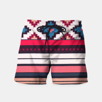 V32 Anthropologie Boho Moroccan Design. Swim Shorts obraz miniatury