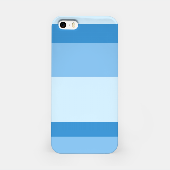 Thumbnail image of Strips - blue. iPhone Case, Live Heroes