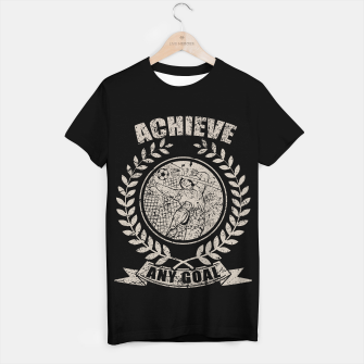 Thumbnail image of Achieve Any Goal T-shirt regular, Live Heroes