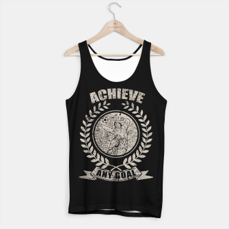 Thumbnail image of Achieve Any Goal Tank Top regular, Live Heroes