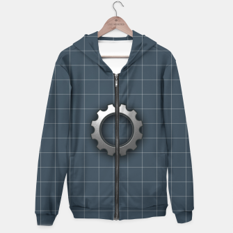 Imagen en miniatura de industrial Cotton zip up hoodie, Live Heroes