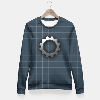 Imagen en miniatura de industrial Woman cotton sweater, Live Heroes