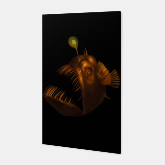 Thumbnail image of Angler Fish Canvas, Live Heroes