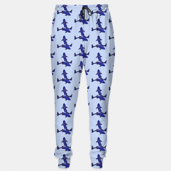 Miniatur Astrological sign pisces constellation pattern Cotton sweatpants, Live Heroes