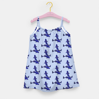 Miniatur Astrological sign pisces constellation pattern Girl's dress, Live Heroes