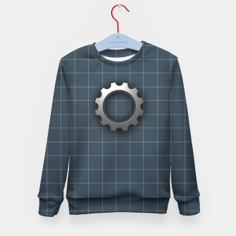 Thumbnail image of industrial Kid's sweater, Live Heroes