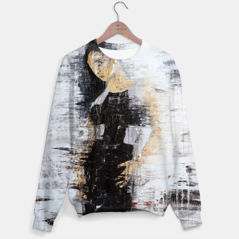 "Thumbnail image of ""1206 abstract fashion series"" Cotton sweater, Live Heroes"