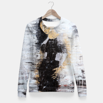 "Thumbnail image of ""1206 abstract fashion series"" Woman cotton sweater, Live Heroes"