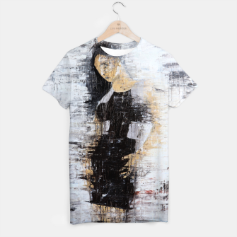 "Thumbnail image of ""1206 abstract fashion series"" T-shirt, Live Heroes"