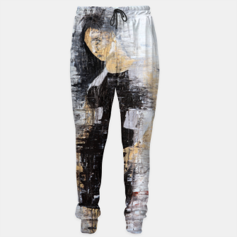 "Thumbnail image of ""1206 abstract fashion series"" Cotton sweatpants, Live Heroes"