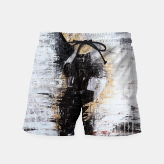 "Thumbnail image of ""1206 abstract fashion series"" Swim Shorts, Live Heroes"