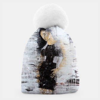 "Thumbnail image of ""1206 abstract fashion series"" Beanie, Live Heroes"
