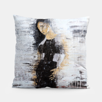 "Thumbnail image of ""1206 abstract fashion series"" Pillow, Live Heroes"