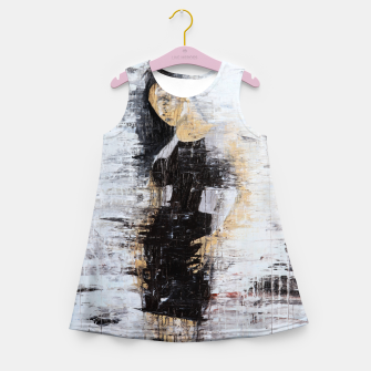 "Thumbnail image of ""1206 abstract fashion series"" Girl's summer dress, Live Heroes"