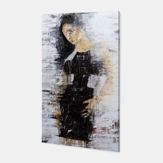 "Thumbnail image of ""1206 abstract fashion series"" Canvas, Live Heroes"