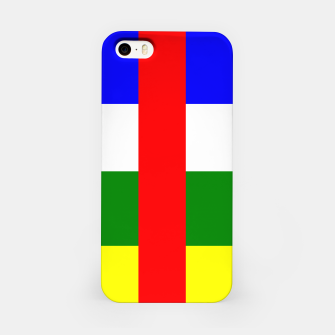 Thumbnail image of Flag of Central African Republic  iPhone Case, Live Heroes