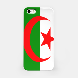 Thumbnail image of Flag of Algeria  iPhone Case, Live Heroes