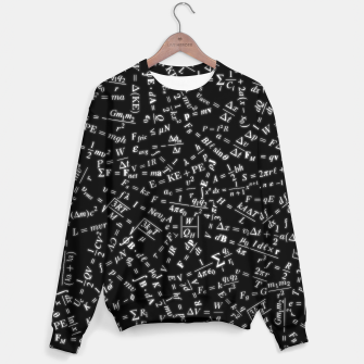 Thumbnail image of Equation Overload Cotton sweater, Live Heroes