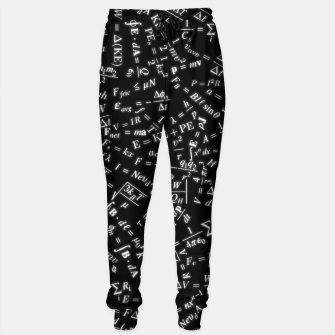 Thumbnail image of Equation Overload Cotton sweatpants, Live Heroes