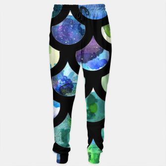 Thumbnail image of Watercolour Mermaid Pattern Cotton sweatpants, Live Heroes