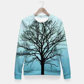 Thumbnail image of Beautiful tree Woman cotton sweater, Live Heroes