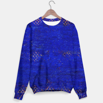 Miniaturka Blue Sea Traditional Moroccan Cotton sweater, Live Heroes