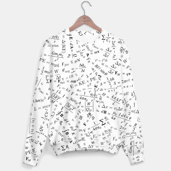 Thumbnail image of Equation Overload II Cotton sweater, Live Heroes