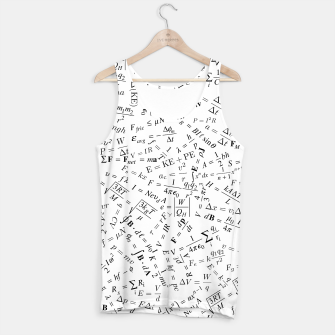 Thumbnail image of Equation Overload II Tank Top, Live Heroes